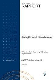 Strategi for norsk blåskjellnæring - FHL