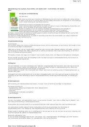 Side 1 af 2 07-12-2004 http://www.forsikringsoplysningen.dk - FDM