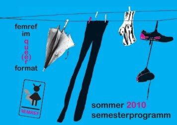 Veranstaltungs - Autonomes Feministisches Referat der Uni ...