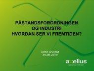 Irena Brustad, Axellus AS - FHL