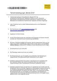 """Teilnahmebedingungen """"Blende 2010"""" - Schwäbische Post"""