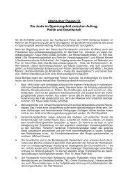 Die Justiz im Spannungsfeld zwischen Auftrag, Politik und ...