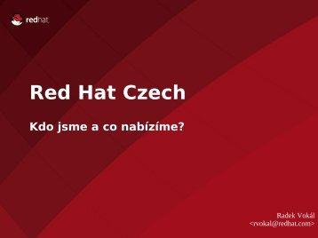 Red Hat Czech, s.r.o.