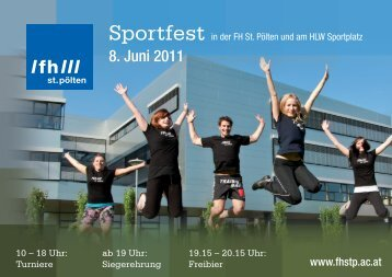 8. Juni 2011 - Fachhochschule St. Pölten