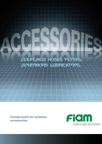 Compressed air systems accessories - Fiam
