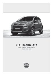 FIAT PANDA 4x4 - Fiatpress.at