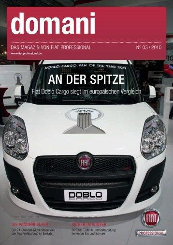 AN DER SPITZE - Fiat Professional