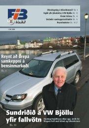 Sundriðið á VW Bjöllu yfir fallvötn Sundriðið á VW Bjöllu yfir ... - Fíb.is