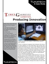 Producing Innovation - Tukatech