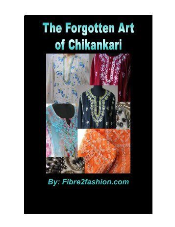 The forgotten art of Chikankari - Fibre2fashion