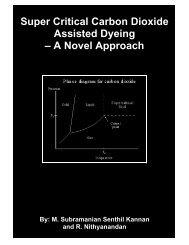 Super Critical Carbon Dioxide Assisted Dyeing – A ... - Fibre2fashion