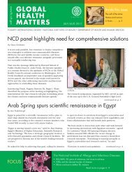 Global Health Matters Newsletter - Fogarty International Center ...