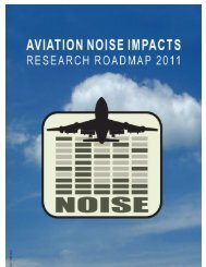Aviation Noise Impacts Roadmap - Federal Interagency Committee ...