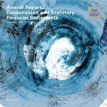 2006 Annual Report - Fiat SpA