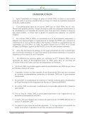 RAPPORT D'ACTIVITE 2005 - FIDAfrique - Page 3