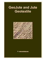 GeoJute and Jute Geotextile - Fibre2fashion