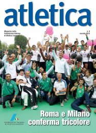 Download Atletica 6/2012 - Fidal