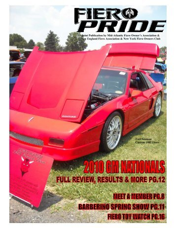 June 2010 Issue - New England Fiero Association