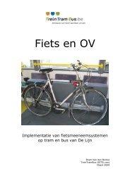 Fiets en OV, Eindrapport - 1,69 MB - Mobiel Vlaanderen
