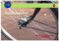 Fietsbeleidsplan - Niet voor niets op de fiets! - Fietsberaad