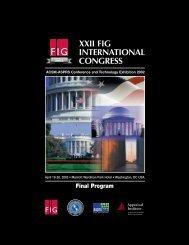XXII FIG INTERNATIONAL CONGRESS