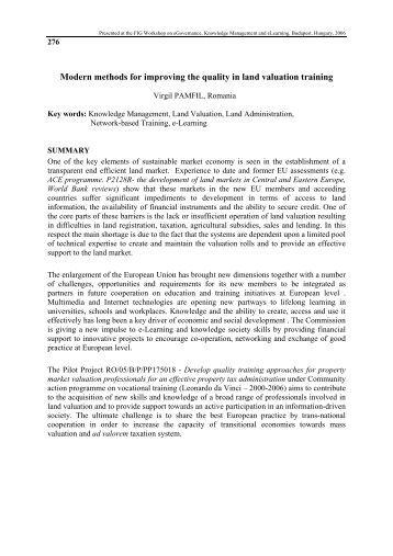 modern methods of valuation pdf
