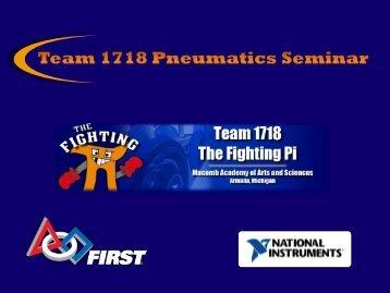Pneumatics Basics - The Fighting Pi