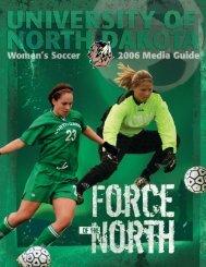 2006 Media Guide - University of North Dakota Athletics