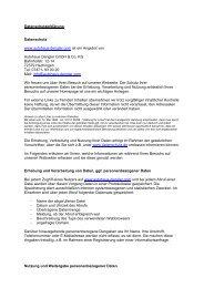 Datenschutzerklärung (PDF) - Autohaus Dengler Gmbh & Co KG