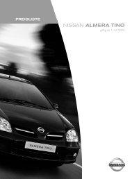NISSAN ALMERA TINO - Autohaus Hering
