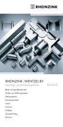 RHEINZINK - WENTZEL BV - Fielmich