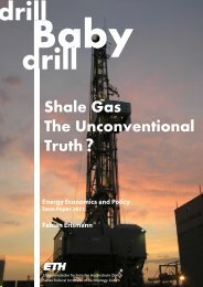 Shale Gas ? The Unconventional Truth?