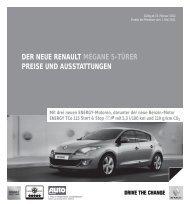 Preisliste - RENAULT Griesel