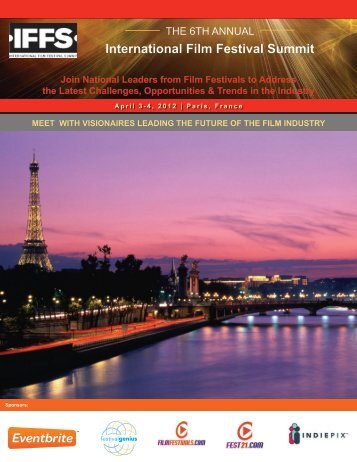 to Download Last Year's Conference Brochure - Film Festival Summit