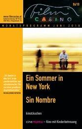 Ein Sommer in New York Sin Nombre - Filmcasino