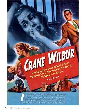 Crane Wilbur - Film Noir Foundation
