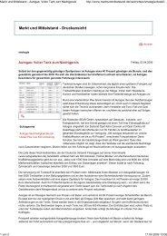 Markt und Mittelstand - Aut... - Autogas Berlin Brandenburg