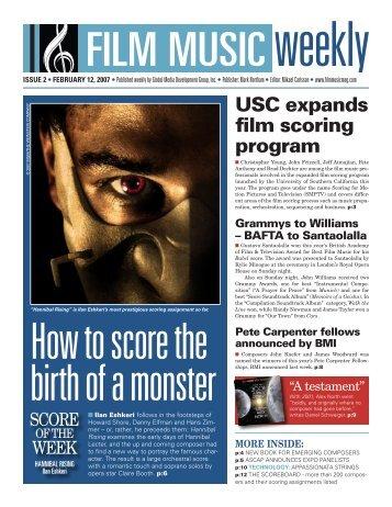 February 12, 2007 - Film Music Magazine