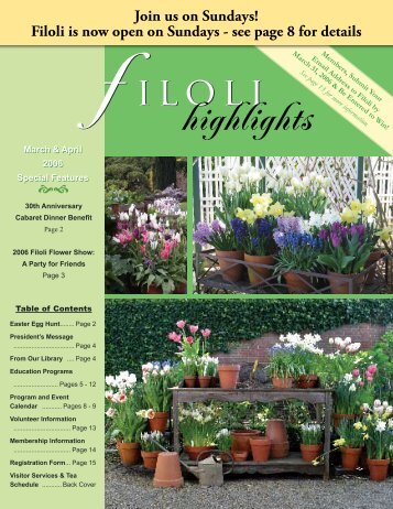 highlights - Filoli