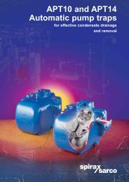 APT10 and APT14 Automatic Pump Traps for Effective ... - Filter