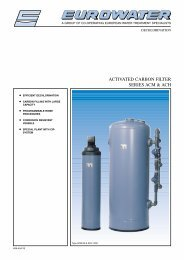 ACTIVATED CARBON FILTER SERIES ACM & ACH