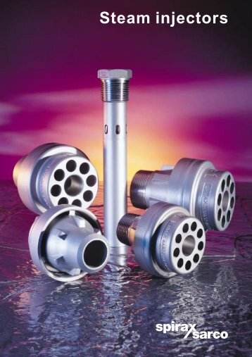 Steam injectors - Filter