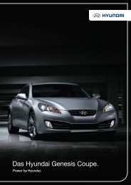 Das Hyundai Genesis Coupe. - Schwabengarage AG
