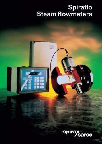 Spiraflo Steam flowmeters - Filter