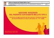Gestione Integrata del Diabete Mellito Tipo 2 - Fimmgtv.Org