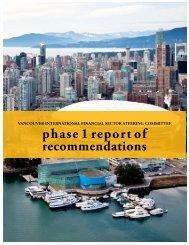 Vancouver International Financial Sector Steering Committee