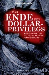 Das Ende des Dollar-Privilegs - Financebooks.de