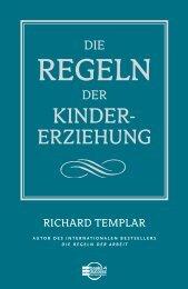 Die Regeln der Kindererziehung - Buchhandel.de