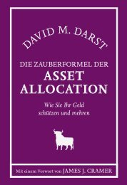 Die Zauberformel der Asset Allocation - boersenbuchverlag.de