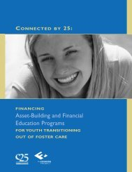 Asset-Building and Financial Education Programs - The Finance ...